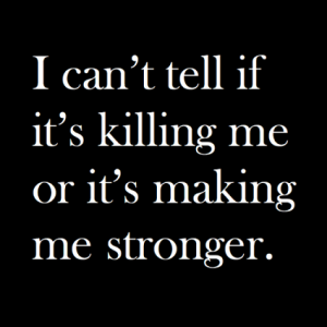 Feeling Stronger Every Day