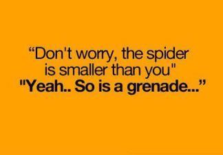 So is a grenade...