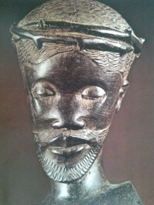 Christ Crowned with Thorns. Wood. Philippines, 20th Century