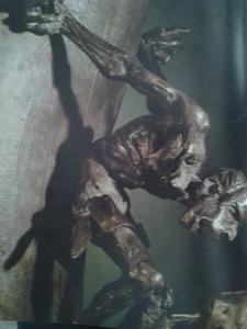 Crucifixion. Bronze. Italy, 1933.