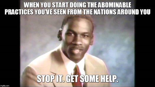 Meme Bible - Deut 18 (9-14)