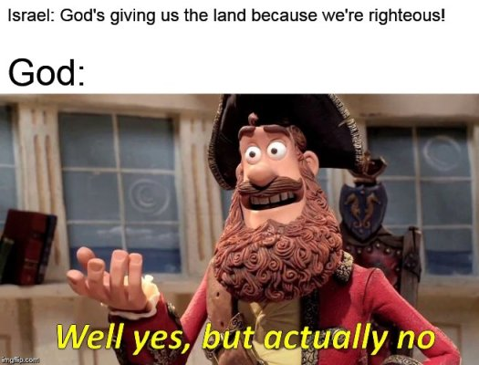 Meme Bible - Deut 9 (1-12)
