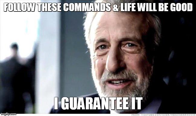 Meme Bible - Exodus 20