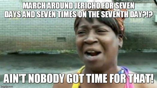 Meme Bible - Joshua 6
