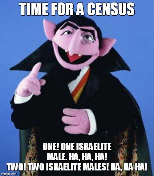 Meme Bible - Numbers 1