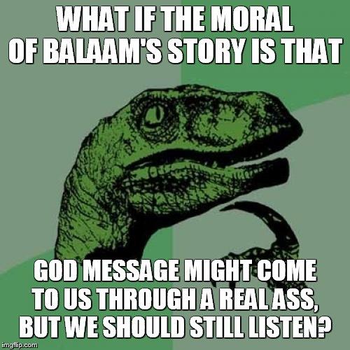 Meme Bible - Numbers 22
